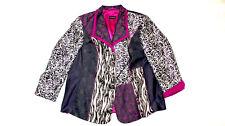 SAMOON GERRY WEBER Abend Blazer Jacke ausgefallen Damen 50 elegant Business #54