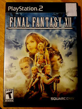 Final Fantasy XII (Sony PlayStation 2, 2006) Video Game Classic 4 ps2 CIB series