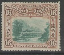 Mint No Gum/MNG North Bornean Stamps