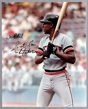 LOU WHITAKER  HOF Signed Autographed 8x10