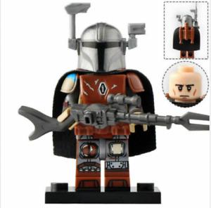 The Mandalorian- Bounty Hunter Star Wars Lego Moc Minifigure Toys