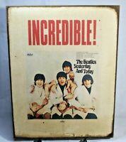 THE BEATLES Butcher Album Vintage ART Handmade vintage sign
