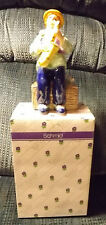 "Music Box Yamada Original By Schmid 1994 Tune ""Put On A Happy Face"" Clown Sax"