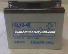 Batterie GEL 12v 45Ah Véhicule Electrique a décharge lente jusqu'a 1300 cycles
