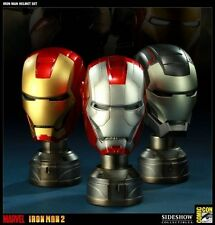 SIDESHOW COLLECTABLES IRON MAN HELMETS SET SDCC 2011 Exclusive