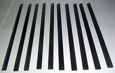 A4 Slide Binders/Baguettes 5 mm en Noir Pack de 10 pour la maison, bureau et écoles