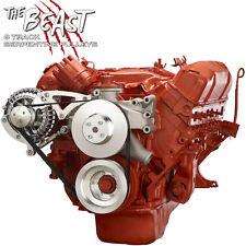 Mopar Big Block Serpentine Pulley Kit 426 440 Chrysler Dodge Hemi Alternator