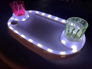 INTEX PURESPA WHITE LED WALL MOUNT DRINKS TRAY FOR INFLATABLE SPA 28520