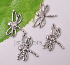 Wholesale 20pcs Tibetan silver charms jewelry dragonfly Charms Pendants