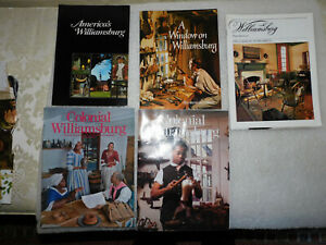 COLONIAL WILLIAMSBURG BOOKS AND CATALOG