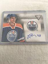 13/14 Panini Titanium Auto Edmonton Ryan Hamilton Hockey Card #TR-RH Mint