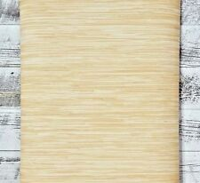 3 ROLL LOT Brewster Wallcovering Traditional Cream Tan Realistic Faux Grasscloth