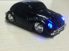 1967 VW Beetle Car Wireless Mouse 2.4G USB Optical Computer Mice Bug beatles BLK