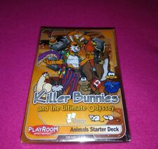 Killer Bunnies and the Ultimate Odyssey Animals Starter Deck NEW!!!