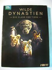 WILDE DYNASTIEN, Die Clans der Tiere von BBC earth, 2 DVDs mit Begleitbooklet
