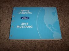 2014 Ford Mustang Electrical Wiring Diagram Manual Convertible GT V6 V8 3.7L