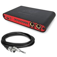 ESI Gigaport eX USB Audio-Interface + Hosa HXS003 XLR zu Klinke Kabel 1m