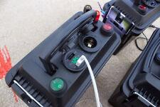 12v Powerbox Kayak Camping Outdoors USB Black Box w/ Green Voltmeter & Switches