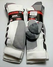 Wolverine Ultimate Safety Over-the-Calf Boot Socks, Large, White, 4 pair $28.99