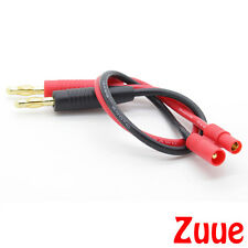 HXT 3.5mm CHARGE LEAD WITH BANANA PLUGS FOR CHARGING RC LIPO BATTERIES