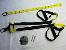 EUC! TRX Basic Home Suspension Trainer System Kit WITH ANCHOR