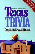Texas Trivia by Jill Couch and Ernie Couch (1991, Paperback, Revised)