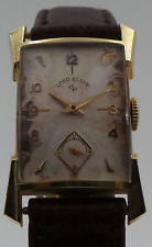 Vintage Elgin Lord Elgin 14K Yellow Gold Manual Wind Running Watch ONLY