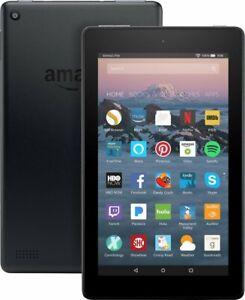 "Amazon Fire 7"" Tablet - 8GB 7th Generation 2017 Release Black B01GEW27DA Refurb"