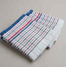 20 Pcs Heavy Duty Commercial 100 Cotton Red Blue Vintage Style Tea Towels