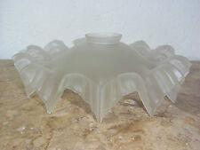Jugendstil Lampenschirm aus Glas,Überfangglas