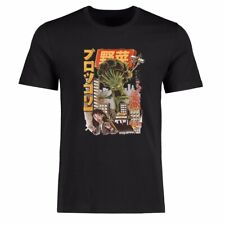 Men's t shirt Funny The Monster is Coming Graphic Tee Shirt Cotton Short Sleeve