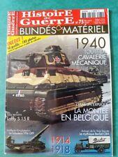 HISTOIRE DE GUERRE BLINDÉS ET MATÉRIEL N°75 1940 toute la cavalerie mécanique