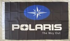 POLARIS FLAG BANNER DRAPEAU SNOWMOBILE MAN CAVE GARAGE 450 atv