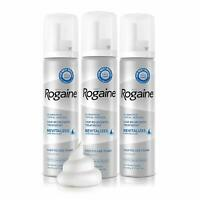 Men's Rogaine 5% Minoxidil Foam Hair Loss/Regrowth 3 Month Supply Exp - 02/2020