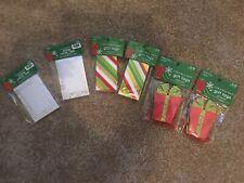 Set Christmas Gift and Name Tags 40 Gift Tags & 60 Name Tags - Us Seller