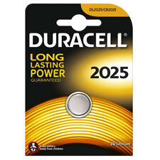"""NEW DURACELL SINGLE CARDED 3V LITHIUM COIN CELL LONG LASTING BATTERY """"DL2025"""""""