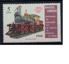 Brazilie mi 1198 (1968) plakker - mh - x no gum train