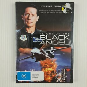 Flight Of The Black Angel DVD - Peter Strauss - R4 - NEW & SEALED - TRACKED POST