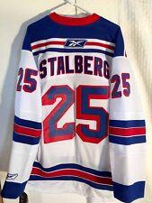 Reebok Premier NHL Jersey New York Rangers Viktor Stalberg White sz XL