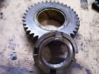 VINTAGE OLIVER  55 GAS TRACTOR -TRANS FRONT LOWER GEAR & NUT