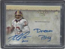 "ROBERT GRIFFIN III RGIII 2012 TOPPS FIVE STAR QUOTABLES ""DREAM BIG"" AUTO RC /25"