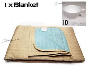 11pcs set, 1 x British Airways Blanket + 10 BA Coffee Cups British Airways Cups