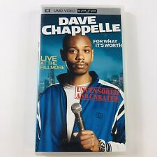 Dave Chappelle For What It's Worth Live Fillmore (Sony PSP, UMD Video, 2005)