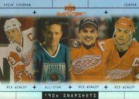 1999-00 Upper Deck MVP Hockey 90's Snapshots #S7 Steve Yzerman Red Wings