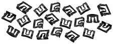 1965-68 Mustang Windshield Molding Clips 20-Pieces Set New Dii