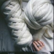 8 lb White Wool Roving, Roving, Spin Fiber, Spin Wool, Wholesale Wool, Bulk Wool