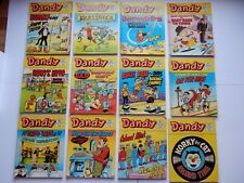 x12 VINTAGE DANDY Comic Library No 3-23 1983-84 British Comics Libraries Laugh