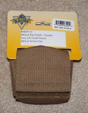 Raine Inc US Military Coyote Brown Tobacco Dip Container Pouch 08CDPCY