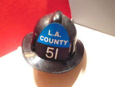 "LA COUNTY 51 ""EMERGENCY"" FIRE HELMET-ENGINE 51-CHET KELLY"