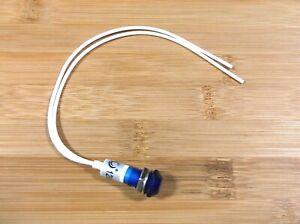 BBT 120 volt AC Waterproof Blue LED Low-Profile Indicator Light